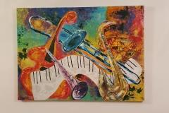 New Orleans Jazz 90 x 122cm