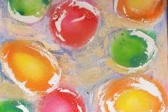 Mardi Gras Beads II   50x50cm