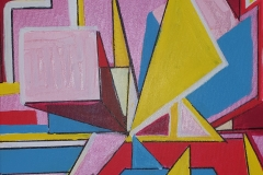 Mini Square Trees & Triangles of Paris 30x30cm