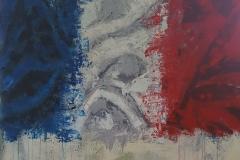 Vive la France 100x100cm